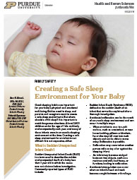 Making a Safe Sleep Environment for an Infant