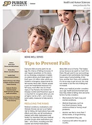 Aging Well: Tips to Prevent Falls