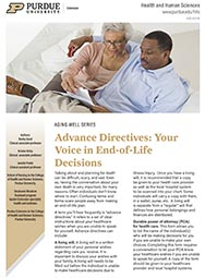 Aging Well: Advance Directives - Your Voice in End-of-Life Decisions