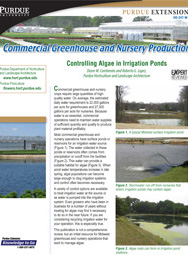 Commercial Greenhouse and Nursery Production: Controlling Algae in Irrigation Ponds