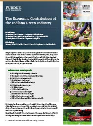 The Economic Contribution of the Indiana Green Industry