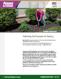 Consumer Horticulture: Collecting Soil Samples for Testing