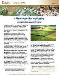 Land Use: A Planning and Zoning Glossary