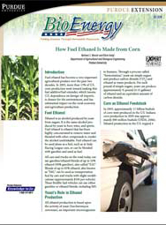 How Fuel Ethanol Is Made from Corn