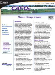 Manure Storage Systems