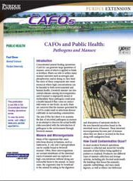 CAFOs and Public Health: Pathogens and Manure