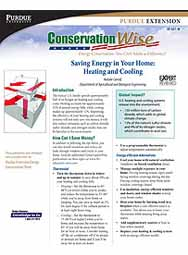 Saving Energy in Your Home: Heating and Cooling