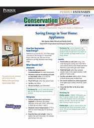 Saving Energy in Your Home: Appliances