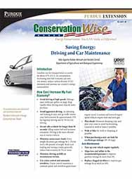 Saving Energy in Your Home: Driving and Car Maintenance