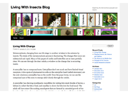 Living with Insects Blog