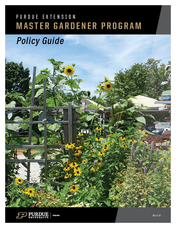 Purdue Master Gardener Program Policy Guide