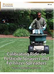 Calibrating Ride-on Pesticide Sprayers and Fertilizer Spreaders: Keys to Application Accuracy