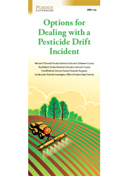 Options for Dealing with a Pesticide Drift Incident