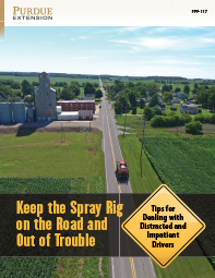Keep the Spray Rig on the Road and Out of Trouble: Tips for Dealing with Distracted and Impatient Drivers