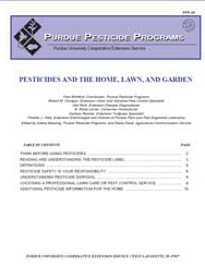 Pesticides and the Home, Lawn, and Garden