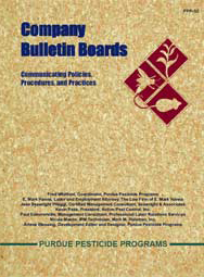 Company Bulletin Boards Communicating Policies, Procedures, and Practices