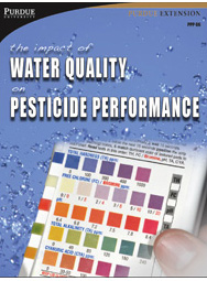 Impact of Water Quality on Pesticide Performance