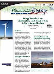 Energy from the Wind: Planning a Small Wind Turbine for Rural Areas of Indiana