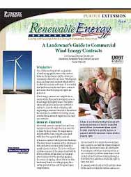 A Landowner's Guide to Commercial Wind Energy Contracts
