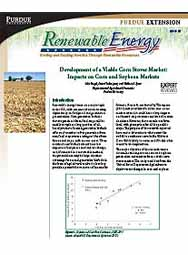 Development of a Viable Corn Stover Market: Impacts on Corn and Soybean Markets