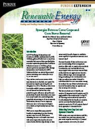 Synergies Between Cover Crops and  Corn Stover Removal