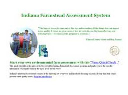 Indiana Farmstead Assessment for Drinking Water Protection